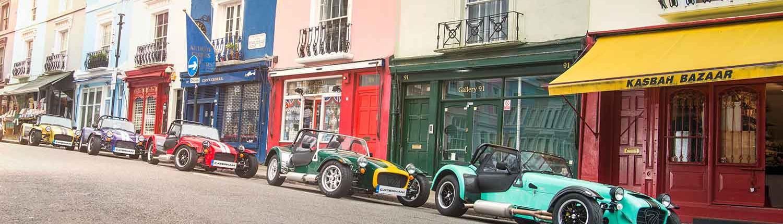 Caterham Fahrzeuge