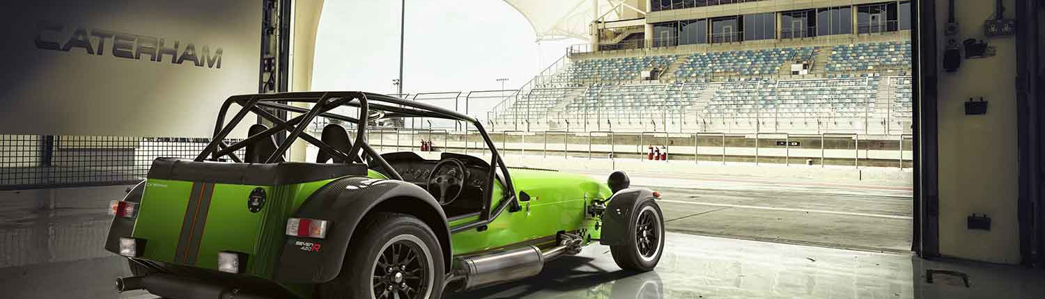 Caterham 420 green